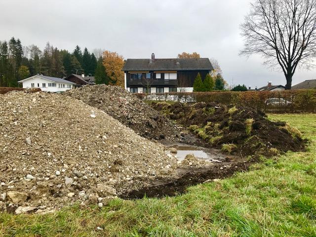Erdhaufen / Erdhügel / Bodengutachten