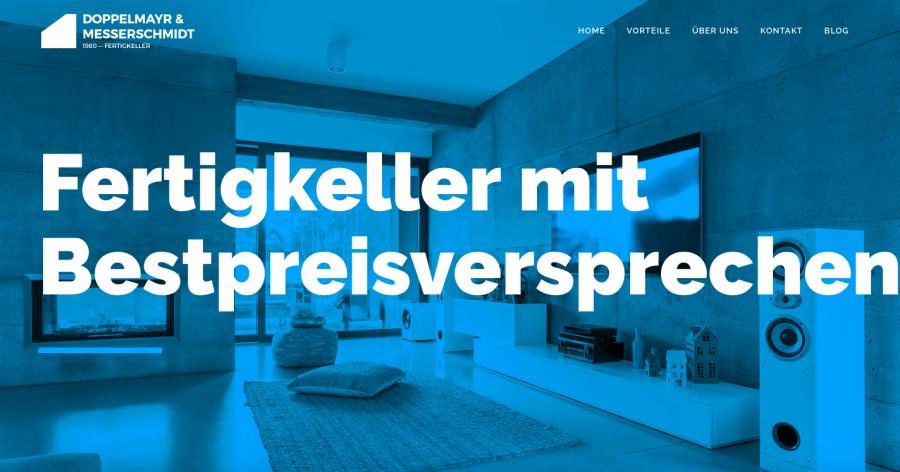 Fertigkeller-Anbieter : Fertigkellerfirmen : Kellerexperte : Doppelmayr & Messerschmidt