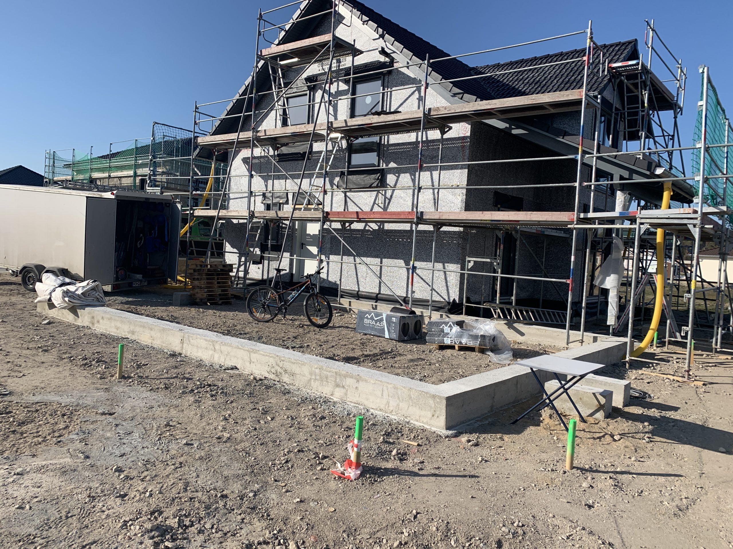 Gussek Haus Baustelle